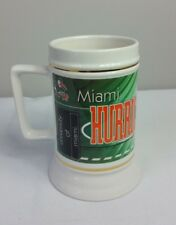 University Of Miami Hurricanes Mug Stein Coffee Cup Tall NCAA