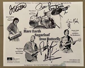 2002 Classic Rock Allstars Autographs + Program and ticket stub