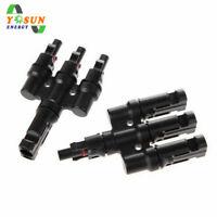 Solar Stecker Y Verteiler 3 Fach T Verteiler Solarstecker Schlüssel 30A IP67