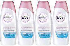 Veet Moisturising Lotion Hydrating & Minimising for Sensitive Skin 4x 250mls