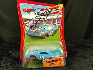 Disney Pixar Cars Movie Race-O-Rama Damaged King Signed Richard Petty