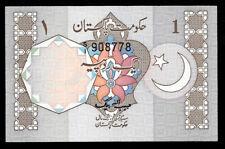 World Paper Money - Pakistan 1 Rupee ND 1982 P26a @ Crisp AU