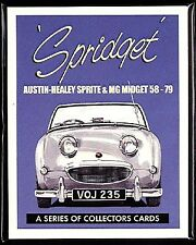 SPRIDGET MG Midget & Austin Healey Sprite '58-'79 Collectors Card Set