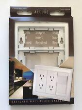 Electrical Wall Plates Taymac A3000W Allure Nonmetallic Wallplate Frame Ak