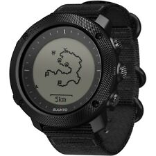 Suunto Traverse Alpha Stealth Mens GPS Outdoor Wrist Watch, Black - SS022469000