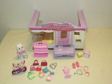 Epoch Calico Critters Sylvanian Families BOUTIQUE SET PLAYSET w Accessories, Cat