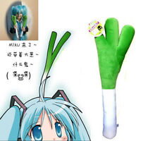 Vocaloid Hatsune Miku Cosplay Leek Plush Toy Doll 40cm New