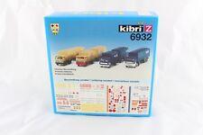 Kibri 6932 kit Construcción Vehículos de emergencia Thw-drk-malteser escala Z