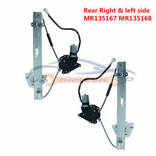 Rear LH+RH Power Window Regulator Motor MR135167/68 For Mitsubishi Montero 92-00