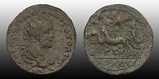 Roman Provincial Volusian Cilicia, Anazarbus mint 252/253 AD Nike in biga COOL
