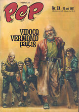 PEP 1967  nr. 23 - VIDOCQ (COVER HANS G. KRESSE)/COMICS/HAIGS/CREAM/SHOES