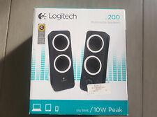Haut-Parleurs Enceinte PC Logitech Z200 Black 2.0