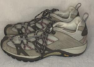 Siren Sport Women's Merrell Vibram Elephant/Pink Hiking Shoes Size 9