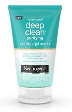 New Neutrogena Deep Clean Cooling Gel Scrub Salicylic Acne Treatment 4.2oz