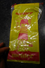 Ancien Sac Sachet Poche Plastique du Chocolat Menier à la Petite Fille