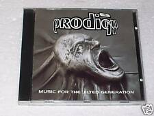 CD - THE PRODIGY - MUSIC FOR THE JILTED GENERATION 1994