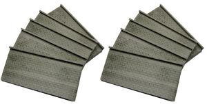 10 Mauerplatten mit Abschlusskante - raue Bruchsteinoptik