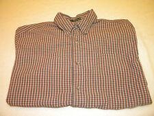Eddie Bauer Mens Short Sleeve Button Up Shirt Size L