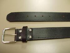 Adult 1 1/2 Heavy Duty Base Ball Bonded Leather Baseball Belt 1.50 New