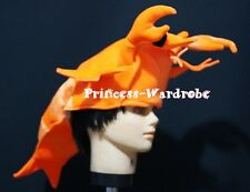 For Halloween Lobster Prawn Shrimp Hat Party Costume For Free Size Gift Present