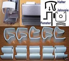 10 St Klemmträger Klemmhalter für Jalousie Montage ohne Bohren Klickhalter
