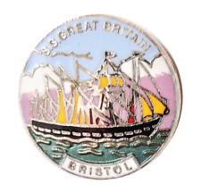 SS Great Britain Bristol Small Pin Badge