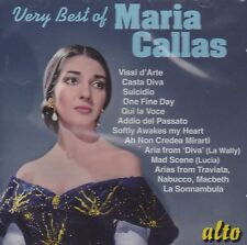 [BRAND NEW] CD: VERY BEST OF MARIA CALLAS