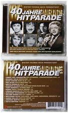 40 JAHRE HITPARADE - James Last, Benny, Katja Ebstein,... 2009 Ariola CD TOP