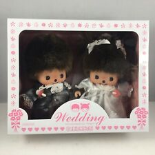 "MONCHHICHI Sekiguchi 6.25""H Bride Groom Bebichhichi Monkey Wedding Doll Gift Set"