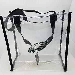 Philadelphia Eagles Clear Reusable Bag--NFL--Entry Compliant 12 X 12 X 6