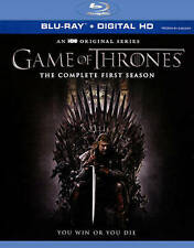 """GAME OF THRONES"" THE COMPLETE FIRST SEASON ON 5 BLU-RAY DISCS (NEW SEALED)"