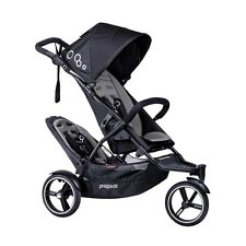 Phil & Teds 2018 Dot V3 Stroller & Double Kit Graphite Brand New!! Open Box!!!
