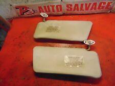 88 89 90 93 92 91 Ford Festiva oem right & left sunvisor sun visor set pair