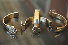 4 Medias pulseras Zamak, bisuteria, abalorios, bracelets, bracciali, armbänder