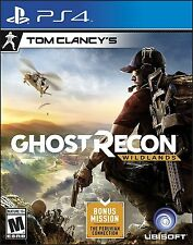 Tom Clancy's Ghost Recon: Wildlands (Sony PlayStation 4, 2017) NEW/NEVER OPENED!