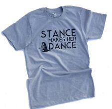 Stance makes her dance car automotive racing tshirt mens small tshirt