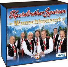 Kastelruther Spatzen - Wunschkonzert (4 CDs) Bekannt aus der TV-Werbung!
