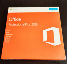 Microsoft Office Professional Plus 2016 Product Key With DVD for 1 PC Sealed