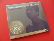 The Essential Aretha Franklin 3.0 Limited Edition 3 Disc CD Brand New!