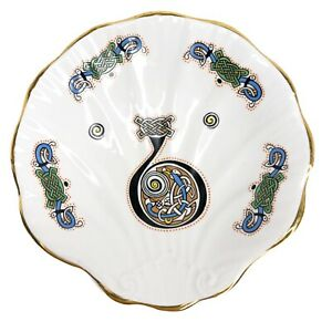 Royal Tara Book of Kells Celtic Illuminated Art Dish Plate Ireland Letter B