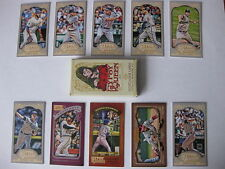 2012 Topps Gypsy Queen box of 10 exclusive mini variation baseball cards