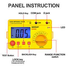 Digital Handheld Megohmmeter Insulation Resistance Tester Audio Impedance Speake
