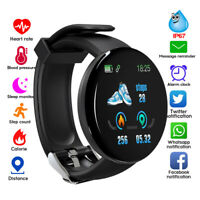 Smart Band Watch Heart Rate Monitor USB Bracelet Sport Pedometer for iOS Android