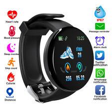 Relógio Pulseira Inteligente Monitor de frequência cardíaca e pulseira esportiva Pedômetro Usb Para Ios Android