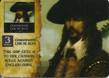PIRATES OF THE SPANISH MAIN - 086 COMANDANTE LUIS DE ALVA