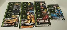Lot of 14 Official Xbox Magazine Demo Discs in Sleeves Full year of 2003 #14-27
