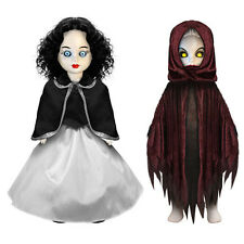 "Living Dead Dolls ~ SNOW WHITE & EVIL QUEEN ~ 10.5"" Set of 2 Dolls by Mezco Toyz"