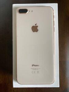 Apple iPhone 8 plus, Vodafone, Rose gold, 64gb, VGC, boxed