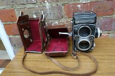 Cased Rolleiflex 3.5F Model 3 TLR Camera Carl Zeiss Planar F3.5 75mm Lens