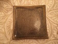Ceramic Square Plate by Country Originals - Brown Small